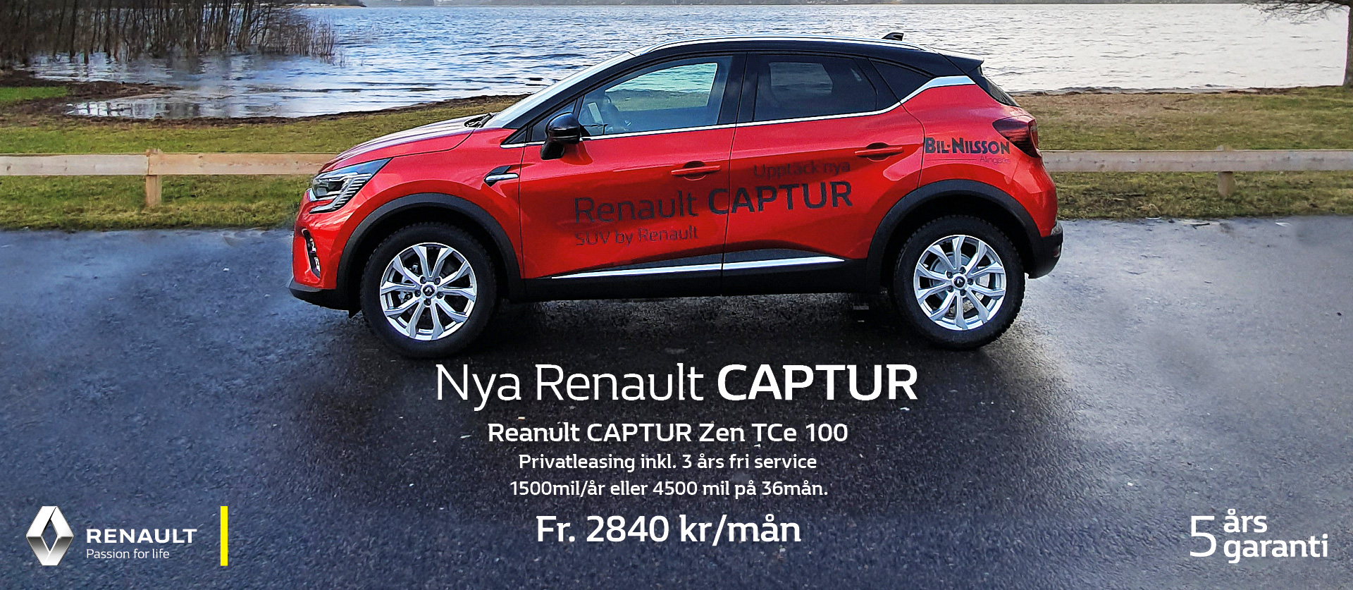 Kampanj Renault Captur privatleasing