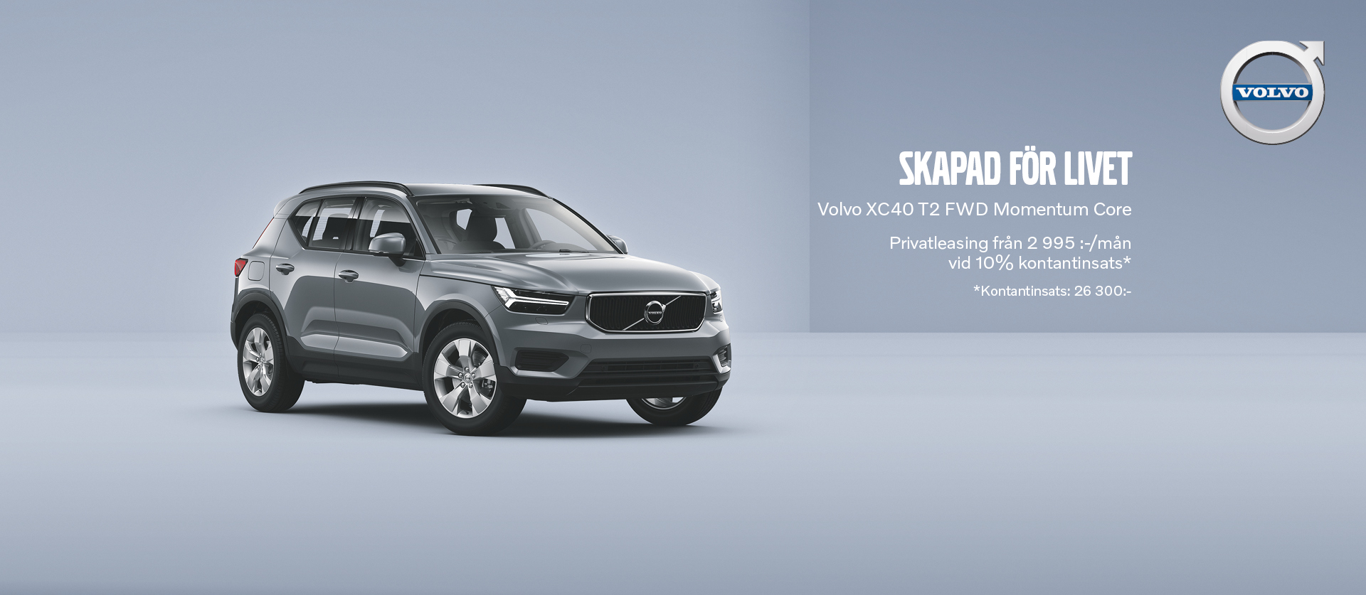 Privatleasing Volvo XC40 T2