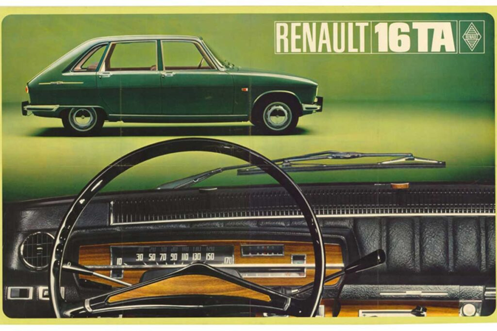 Renault 16 annons