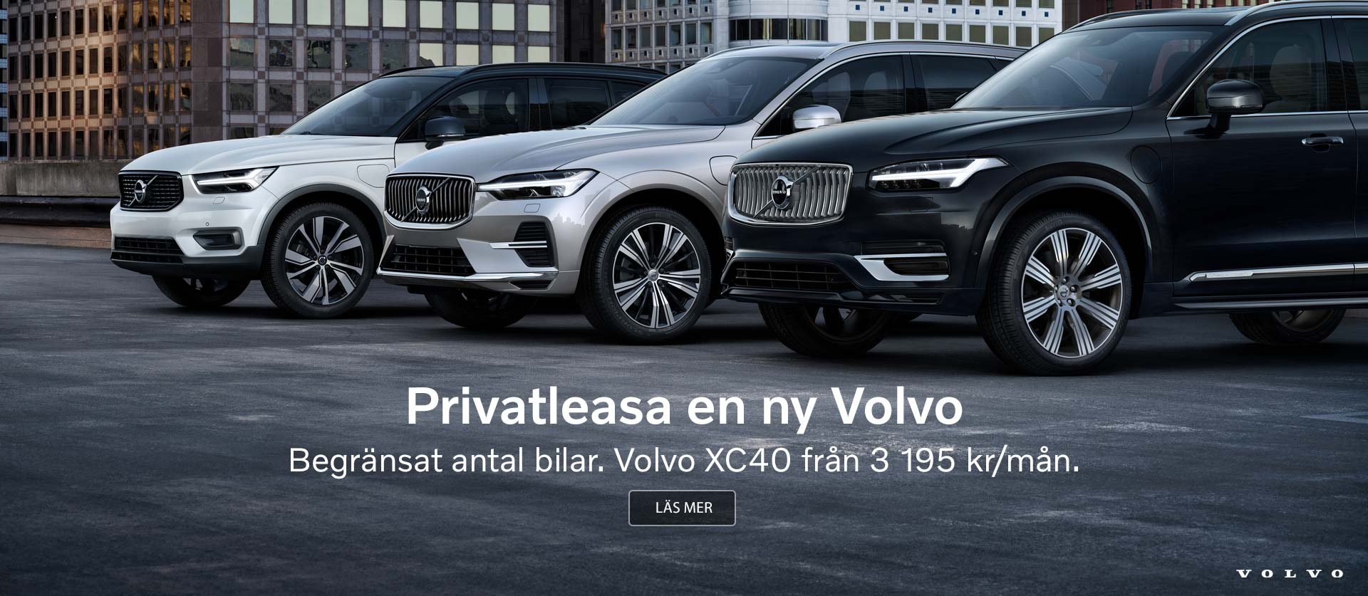 Volvo nationell privatleasing