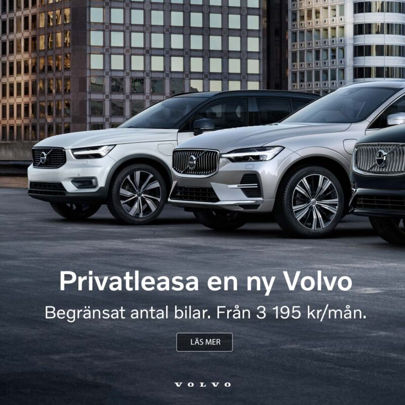 Volvo nationell privatleasing XC40
